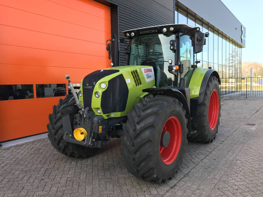 CLAAS ARION 660 CMATIC, Tractors, Agriculture