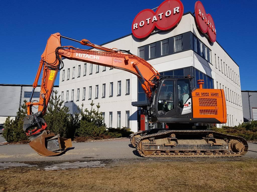 Hitachi ZX225USRL-5B, Crawler excavators, Construction