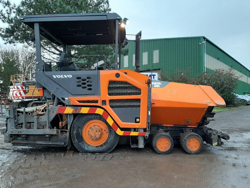 Volvo P6870C, Asphalt pavers, Construction Equipment