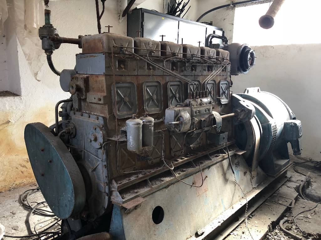 [Other] Diesel Agregat Generator 6 S  160 PN  ČSSR, Naftové generátory, Stavební stroje