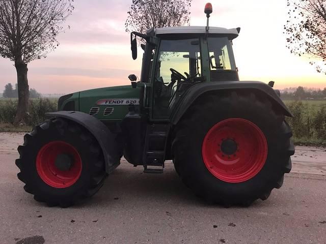Fendt 820 VARIO /TMS, Tractoren, Landbouw