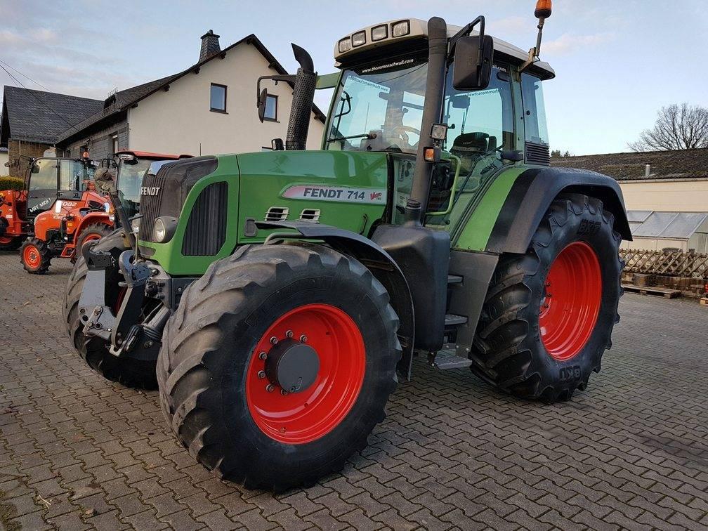 Fendt 714 Vario TMS, Tracteur, Agricole
