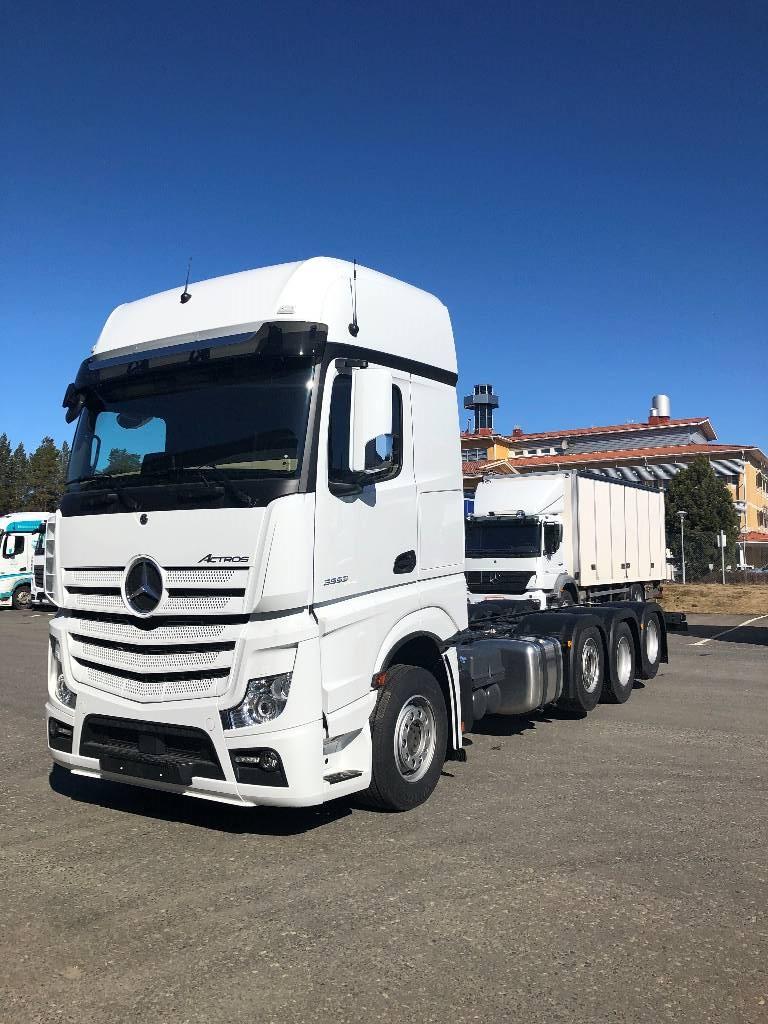 Mercedes-Benz Actros 4 3553L DNA 8x2, Kuorma-autoalustat, Raskas kalusto ja perävaunut