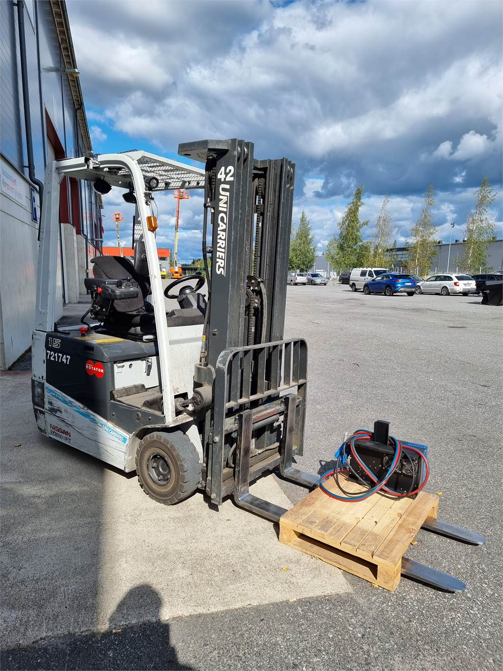 UniCarriers A1N1L15Q, Electric forklift trucks, Material Handling
