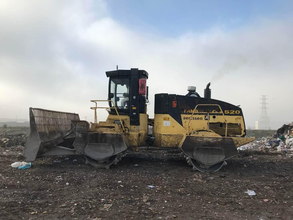 Tana GX 520, Waste compactors, Construction