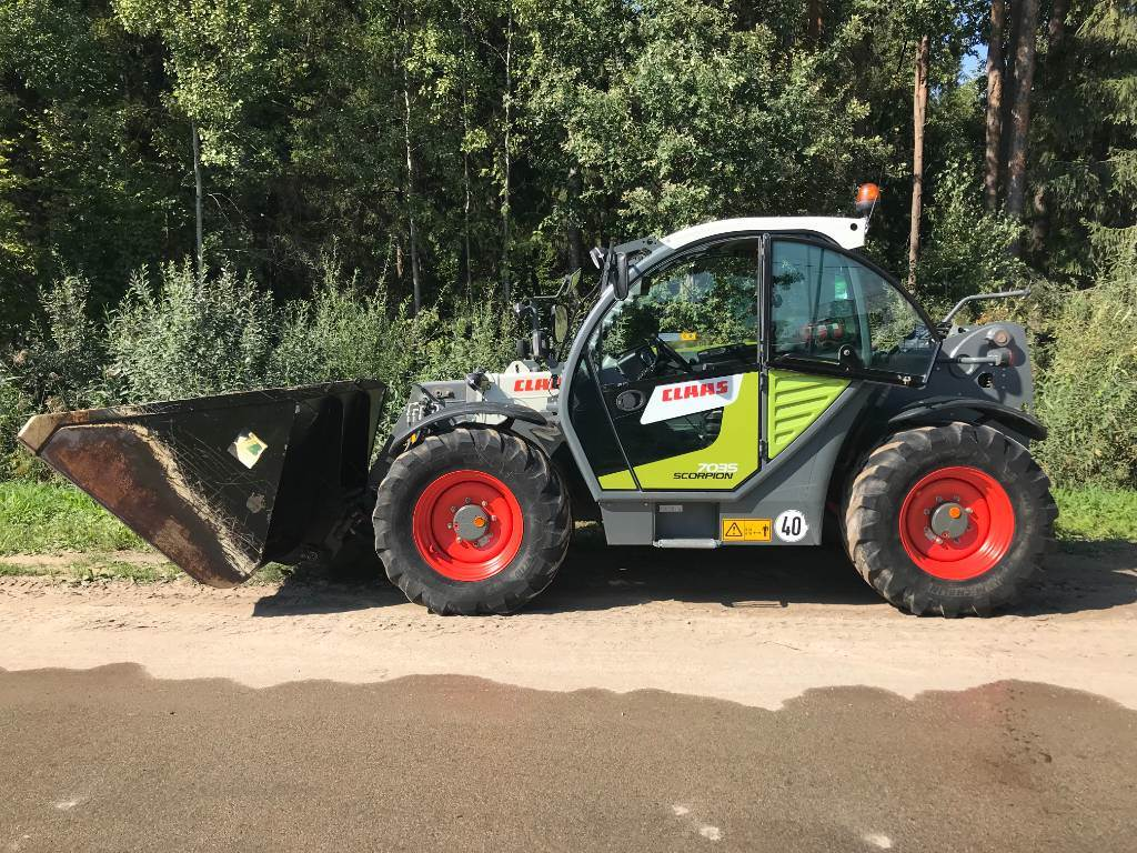 CLAAS Scorpion 7035 VP, Telehandlers for agriculture, Agriculture
