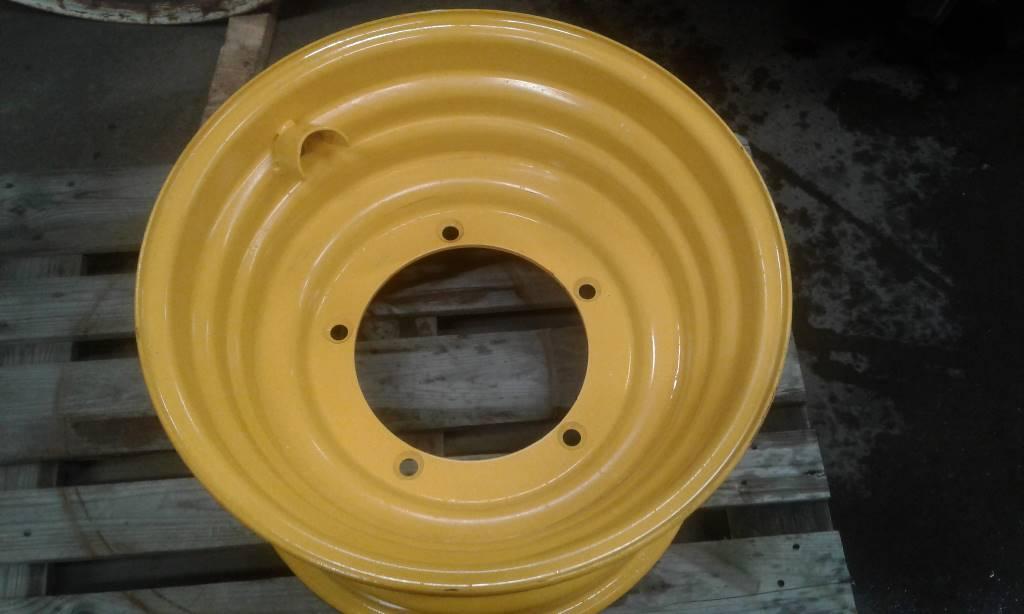 [Other] Fälg 16x24 tum gul Till JCB Teleskoplastare., Däck, hjul och fälgar, Entreprenad