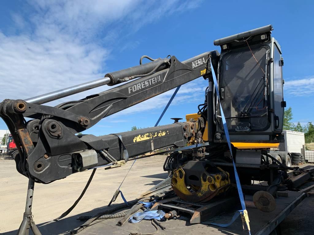 Kesla 2110T, Timber cranes, Transportation