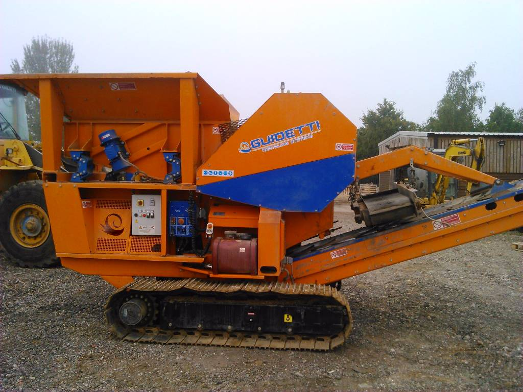 Guidetti C11, Crushers, Construction