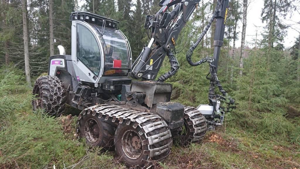 Logset 5H GT, Harvesters, Forestry