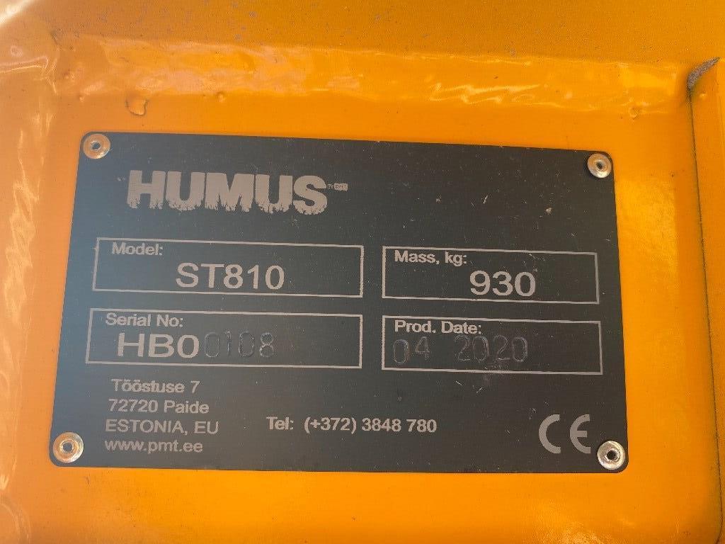 Humus Entreprenadgripar ST210 SO450, Gripar, Entreprenad