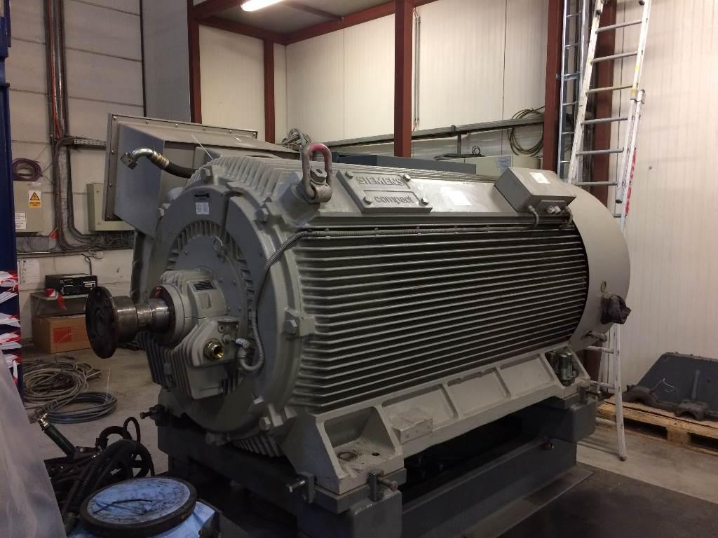 Siemens 710kw Motor 10kv For Zh 7000 Compressor