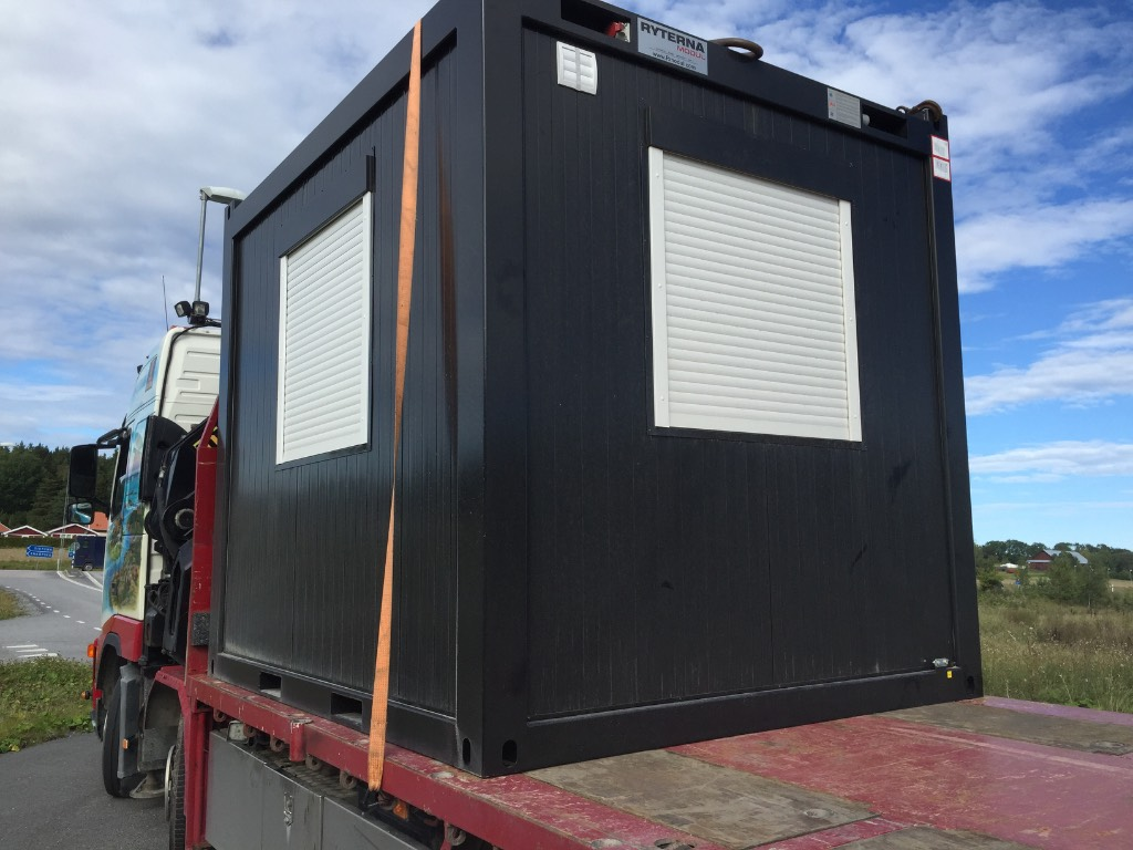 [Other] Ryterna kontor 10 fot, Specialcontainers, Transportfordon