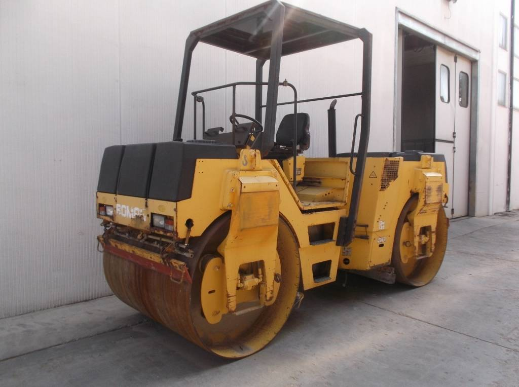 Bomag BW 144, Twin drum rollers, Construction Equipment
