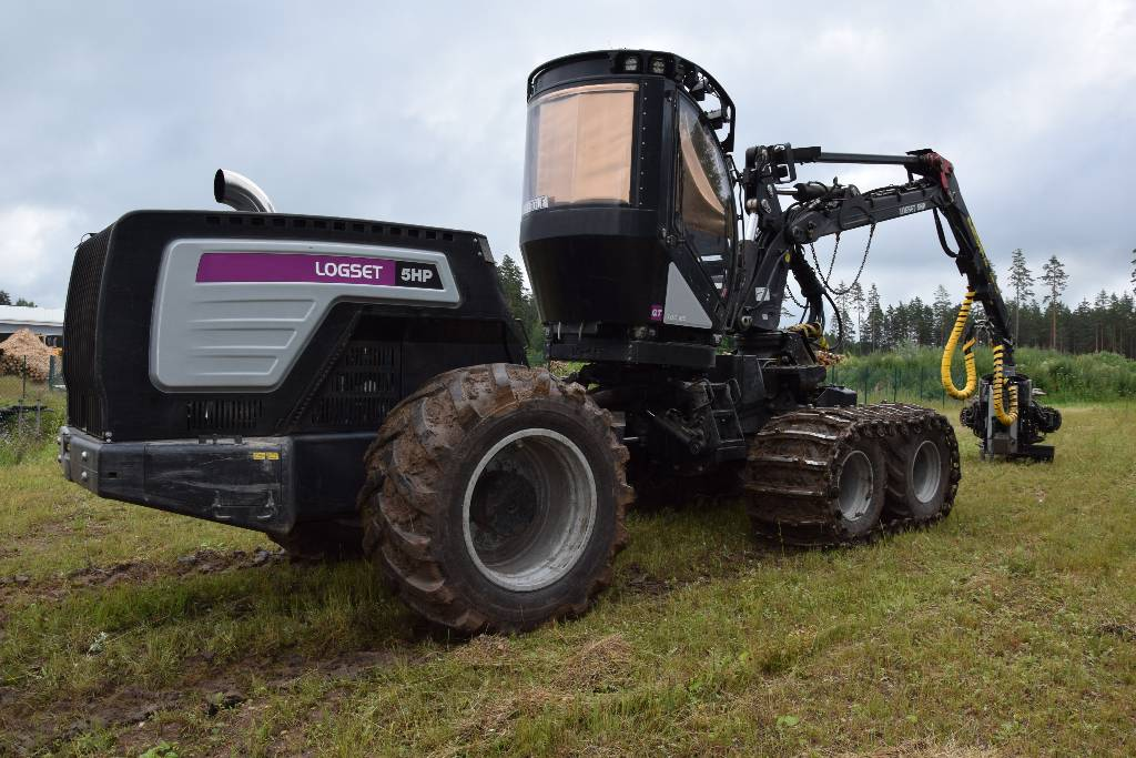 Logset 5HP, Harvesters, Forestry