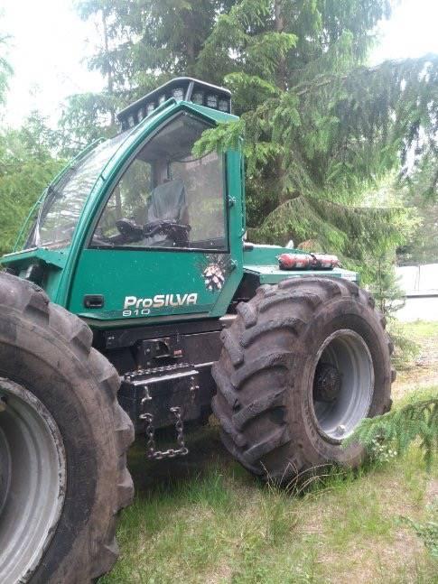 Prosilva 910, Harvesterit, Metsäkoneet