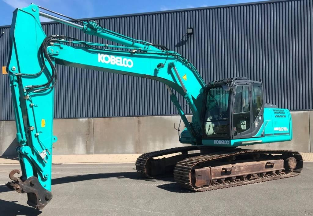 Kobelco SK210 LC-9, Crawler Excavators, Construction