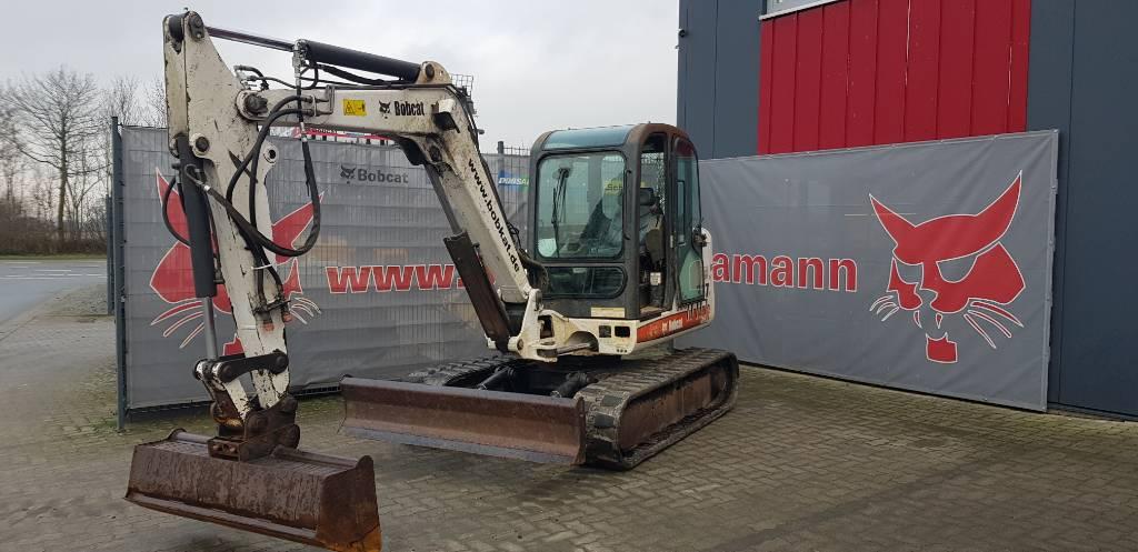 Bobcat 337, Mini digger, Construction Equipment