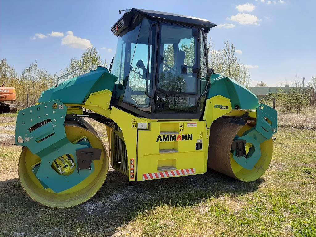 Ammann ARP95, Twin drum rollers, Construction Equipment
