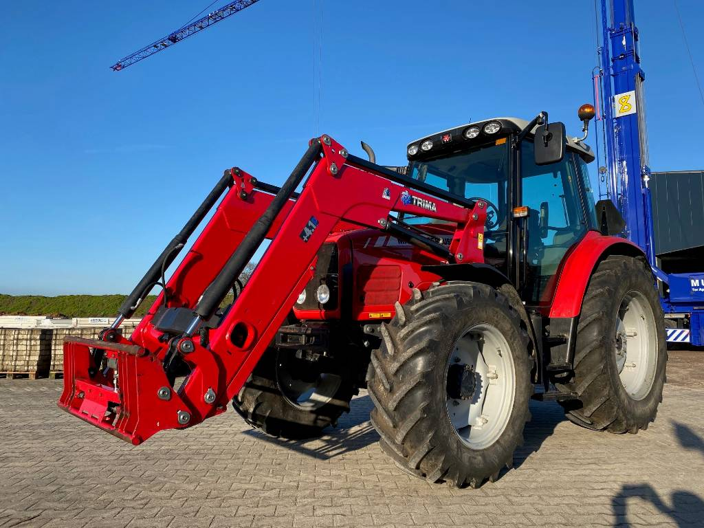 Massey Ferguson 5455 Dyna- 4, Tractoren, Landbouw