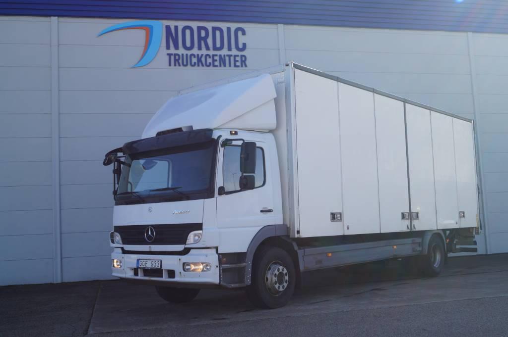 Mercedes-Benz Atego 1524 Distribution, Box trucks, Trucks and Trailers