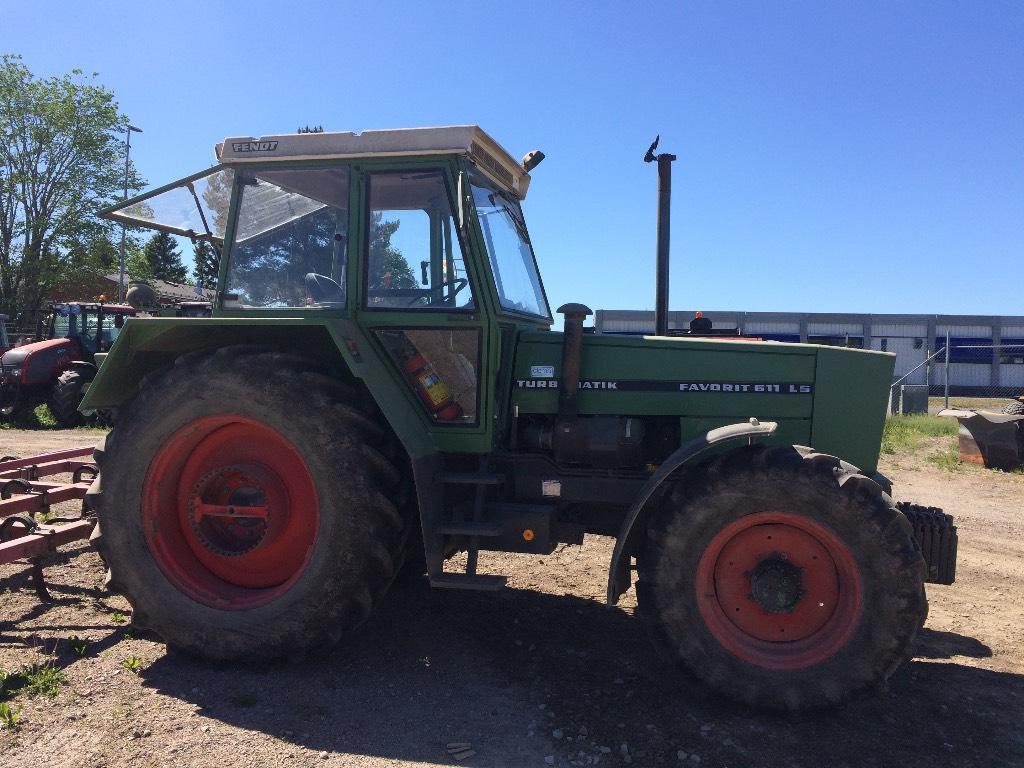 Fendt 611 LSA -84, Traktorer, Lantbruk