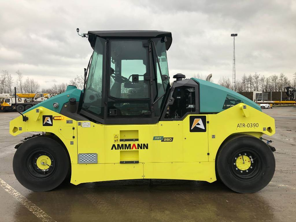Ammann ART 280, Pneumatic tired rollers, Construction