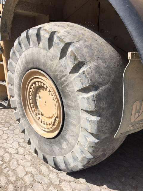 Caterpillar 980 H, Læssemaskiner på hjul, Entreprenør
