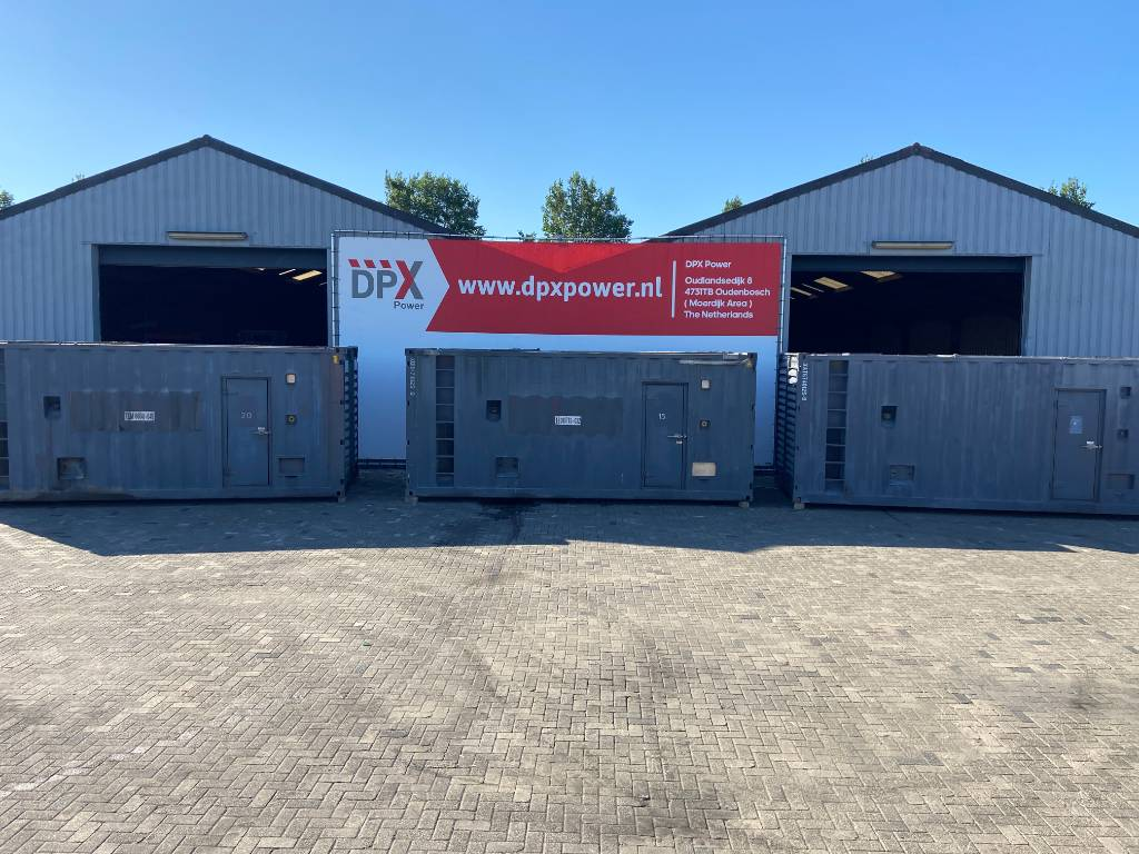 [Other] Container 20FT Genset Container - DPX-12213-B, Anders, Bouw