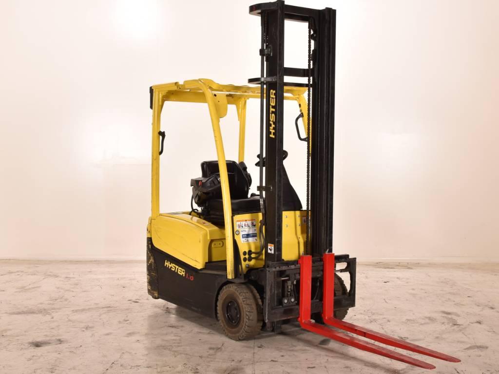 Hyster J1.6XNT, Elektrische heftrucks, Laden en lossen