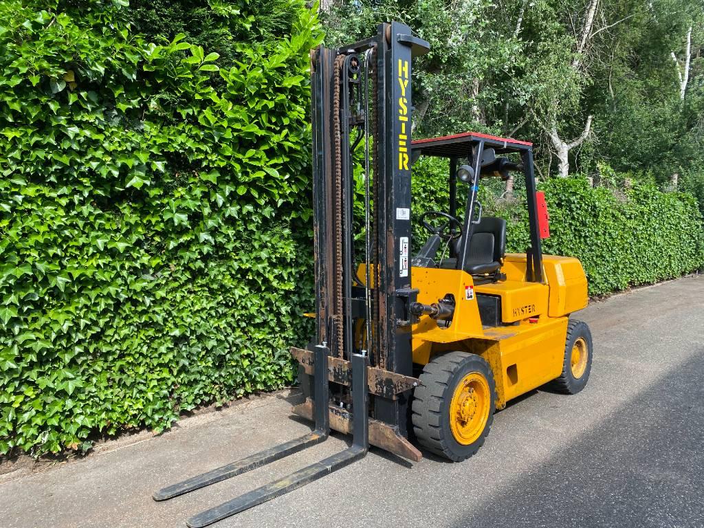 Hyster H 4.00 XL, Diesel trucks, Material Handling