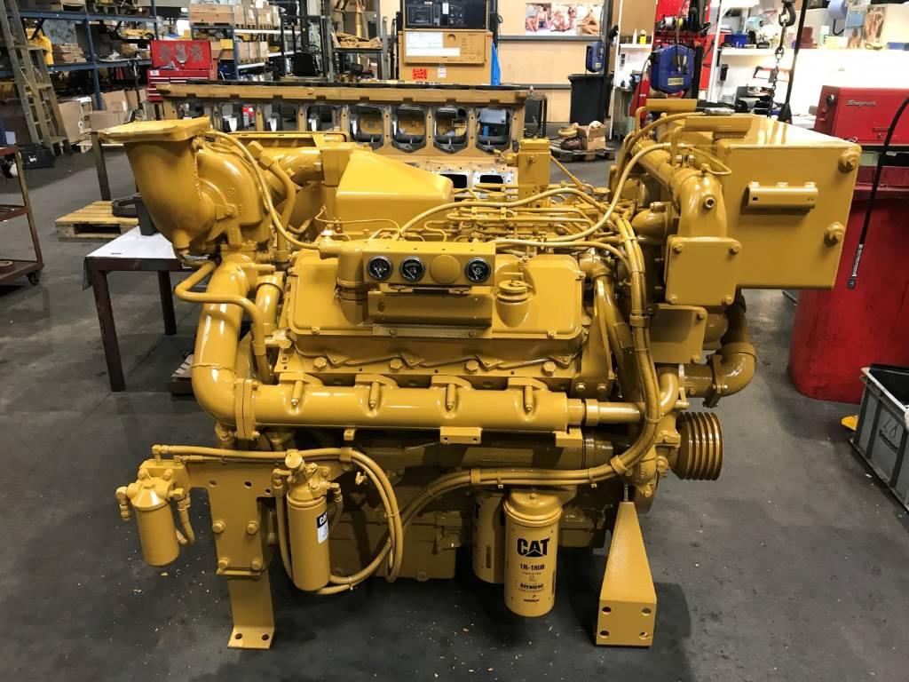 Caterpillar 3408 - Marine Auxiliary - 400 kW - DPH 97000, Marine auxiliary engines, Construction