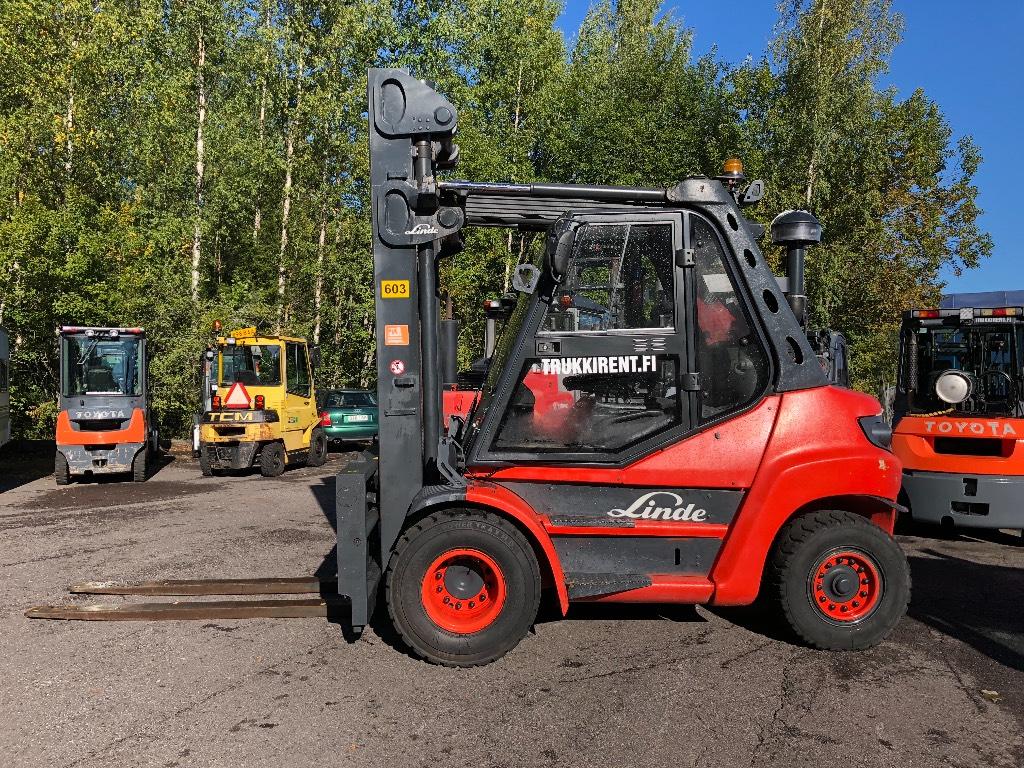 Linde H80D, Dieseltrukit, Materiaalinkäsittely