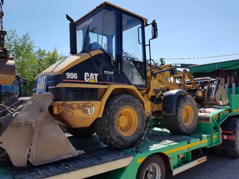 Caterpillar 906, Radlader, Baumaschinen
