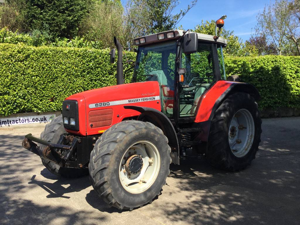 Massey Ferguson 6280 Dynashift c w CCLS F Links
