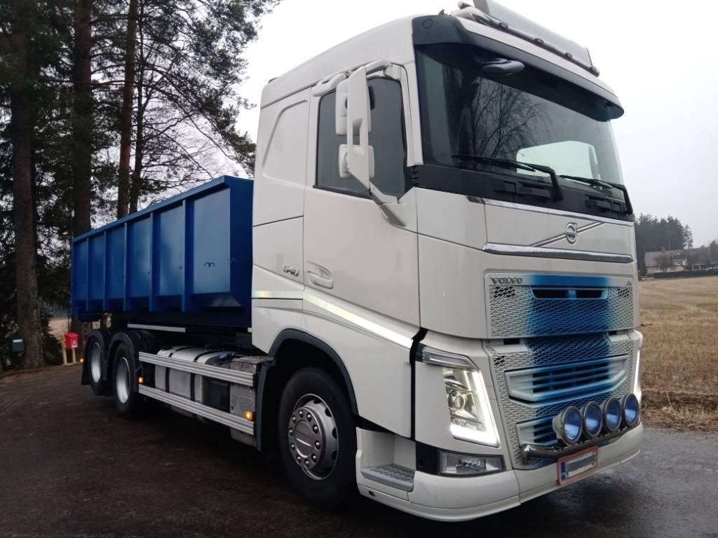 Volvo FH540 6x2 vaihtolavalaite,matala,av4300mm, Vaihtolava-autot, Kuljetuskalusto