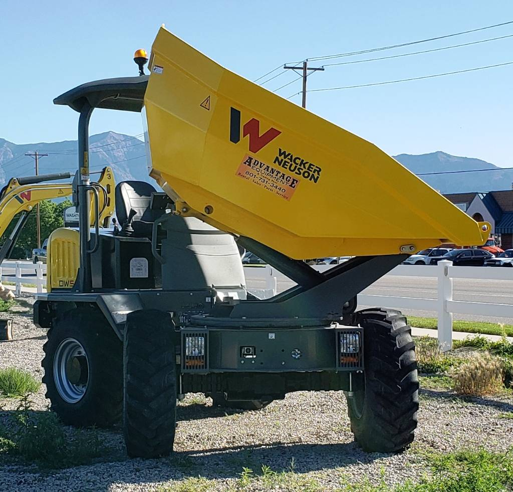 Wacker Neuson DW50, Site dumpers, Products