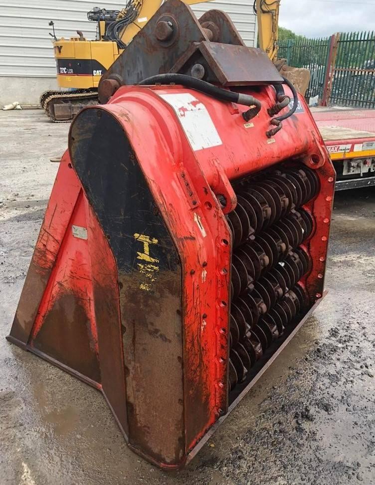 Allu SMH 4-12, Buckets, Construction Equipment
