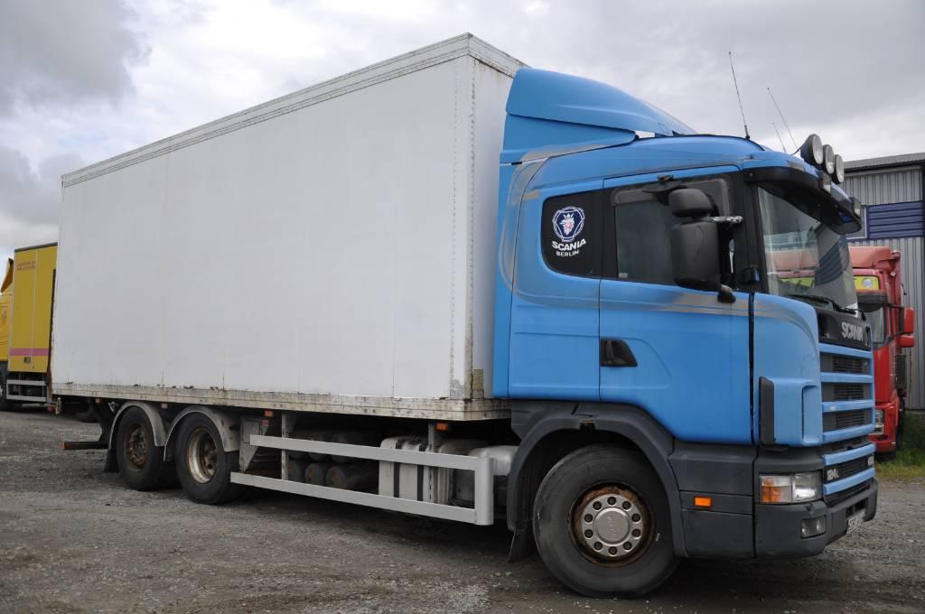 Scania 124 6X2 400 rep.-obj., Skåpbilar, Transportfordon