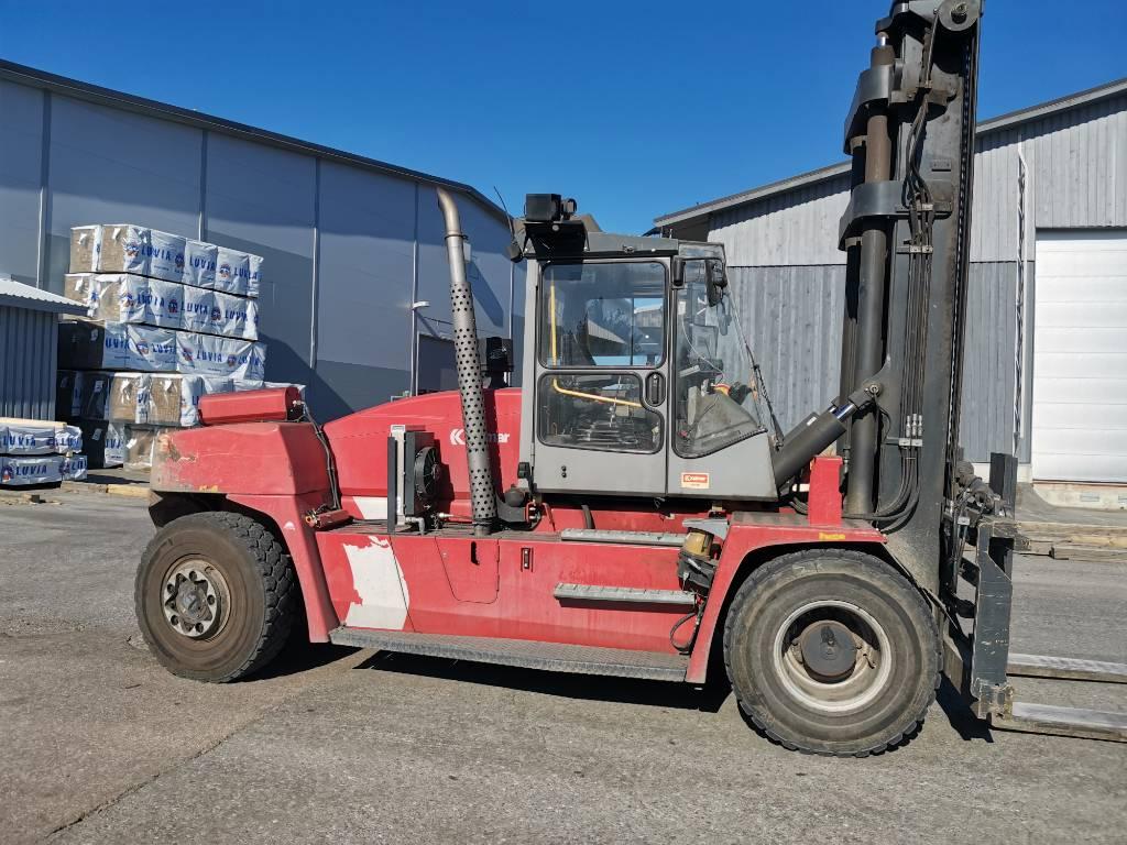 Kalmar DCE 160-12, Dieseltrukit, Materiaalinkäsittely