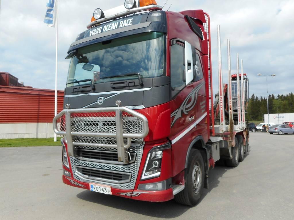 Volvo FH 16, Puuautot, Kuljetuskalusto