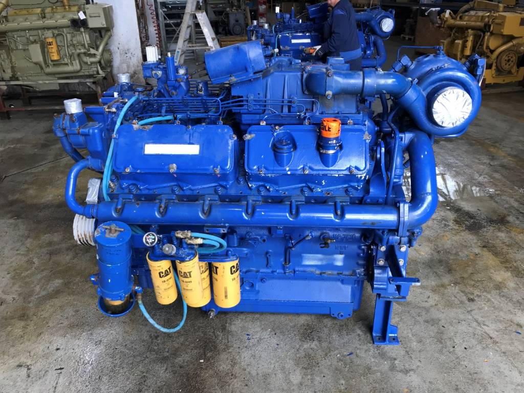 Caterpillar 3412 D ITA - Industrial Engine - 38S, Industrial Applications, Construction
