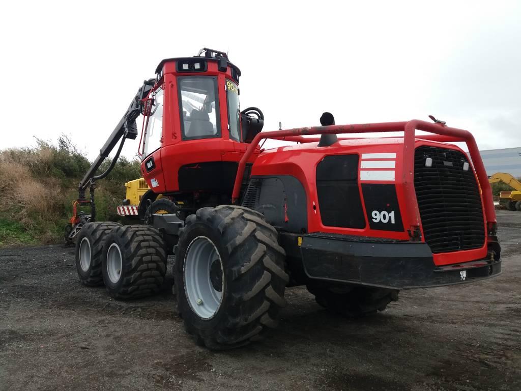 Komatsu 901, Harvesters, Forestry Equipment