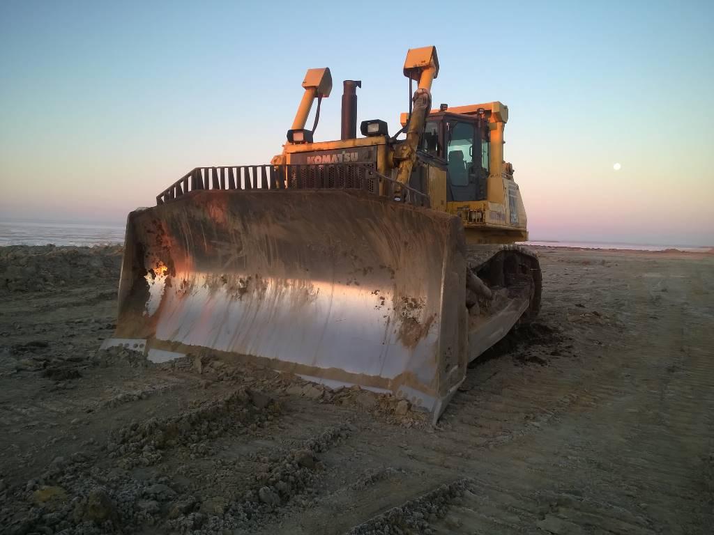Komatsu D375A-6, Crawler dozers, Construction Equipment