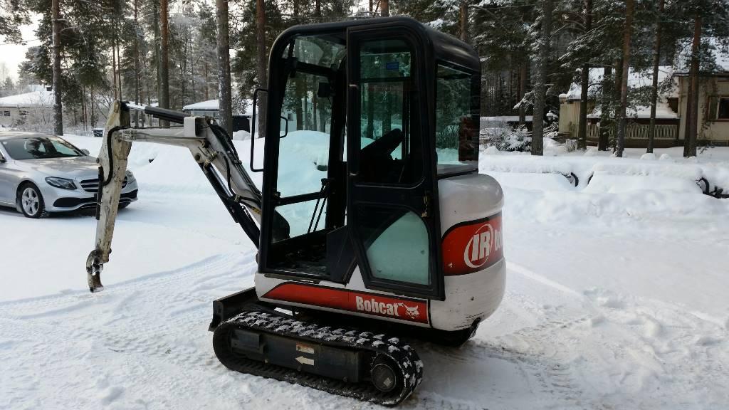 Bobcat E322, Mini excavators < 7t (Mini diggers), Construction