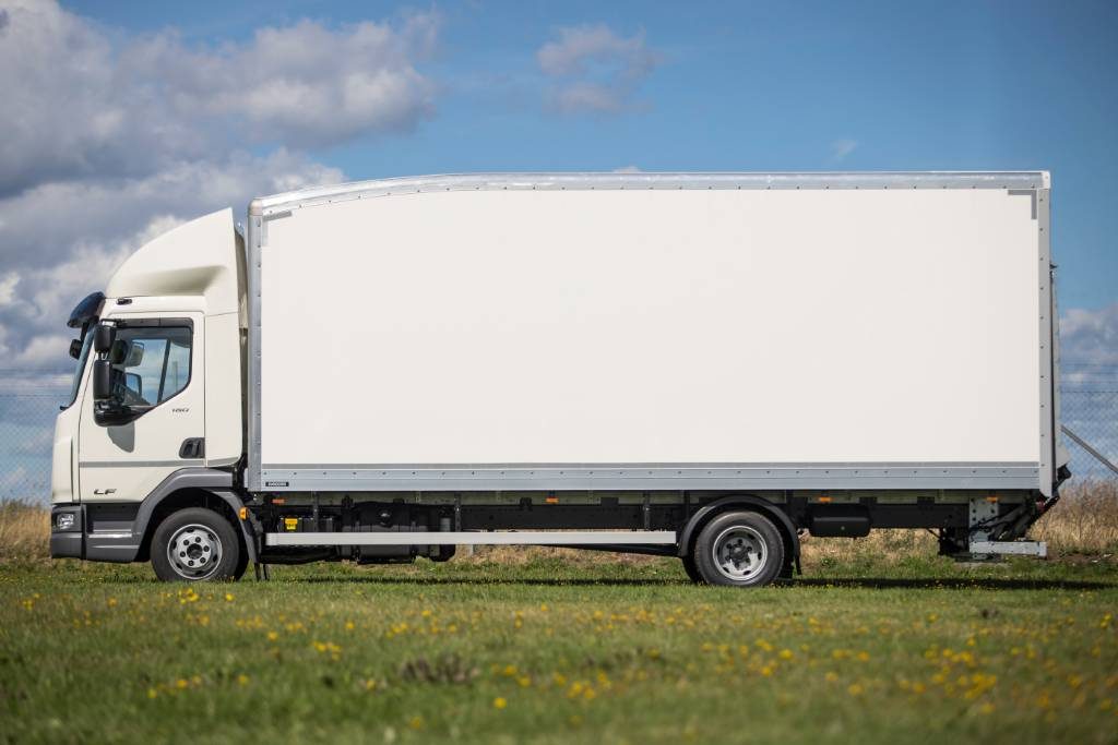 DAF LF FA 7,5t - Nordic Edition, Box trucks, Trucks and Trailers