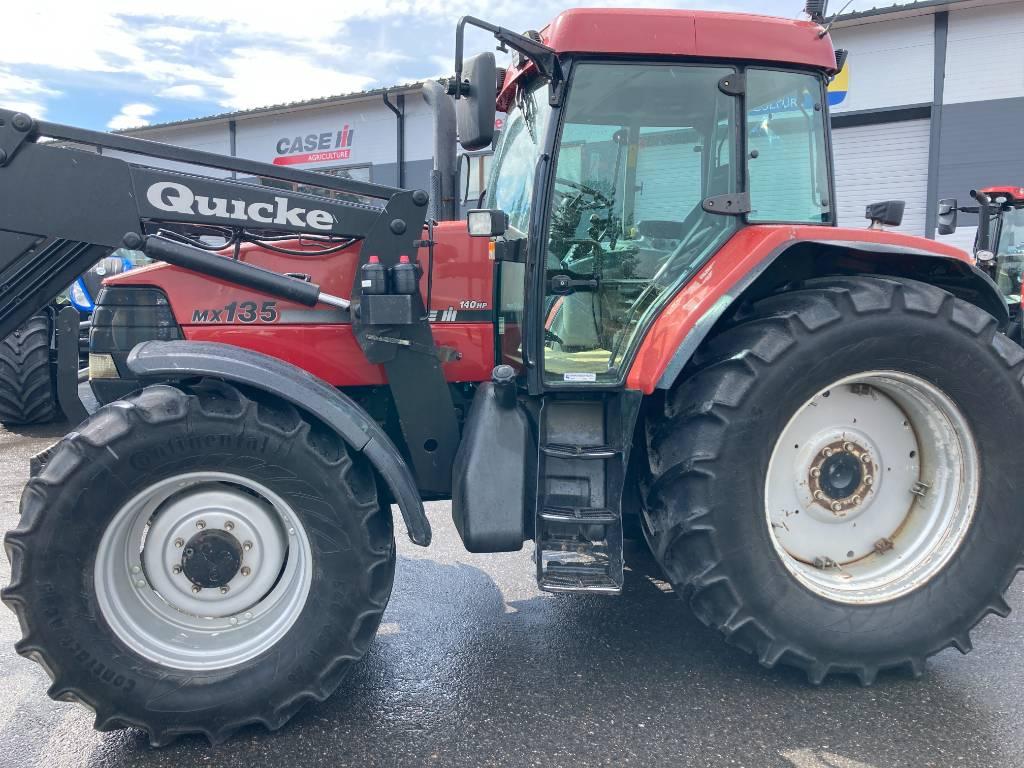 Case IH MX 135 + Etukuormain, Traktorit, Maatalous