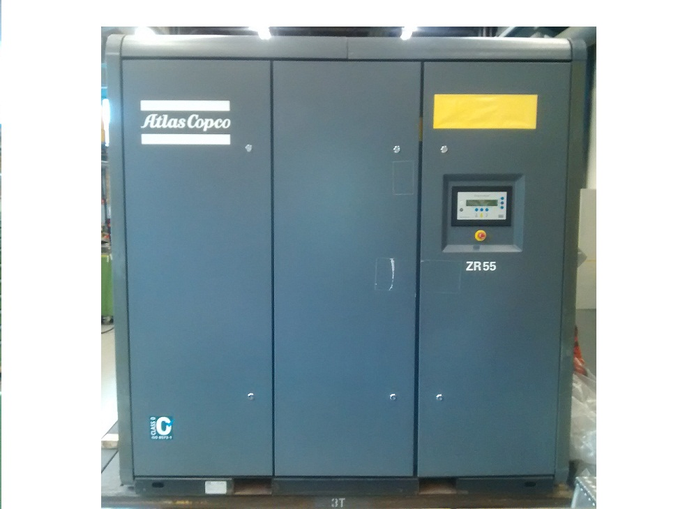 Atlas Copco ZR 55 (+ MD 200W), Compressors, Industrial