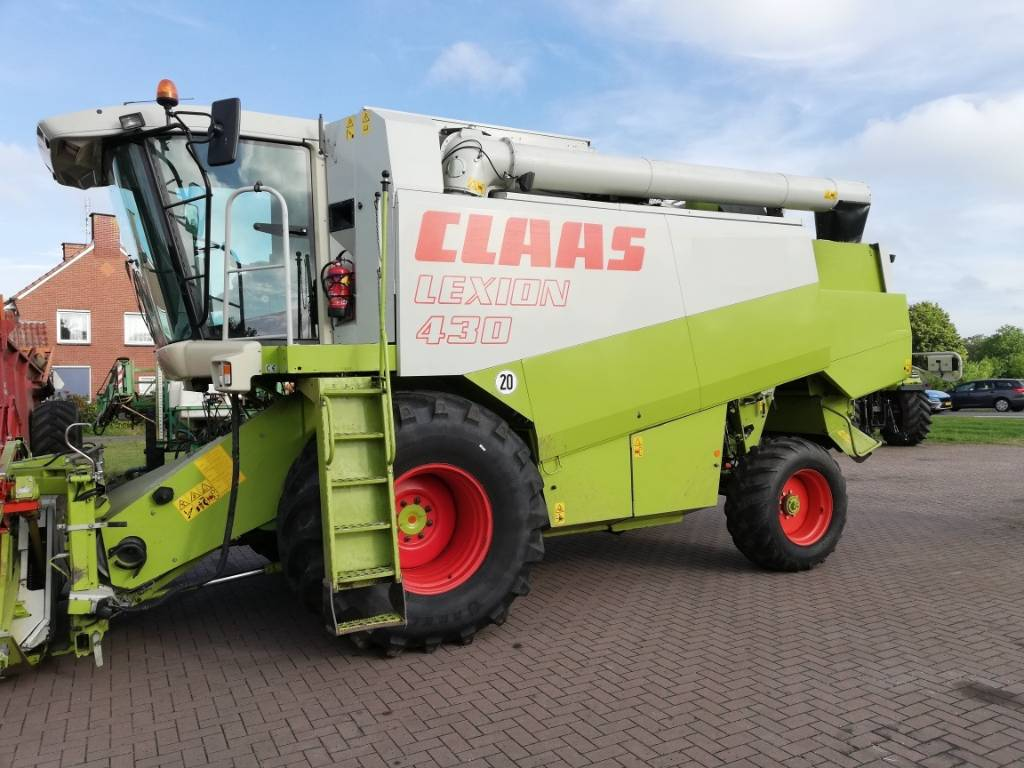CLAAS Lexion 430, Combines, Agriculture