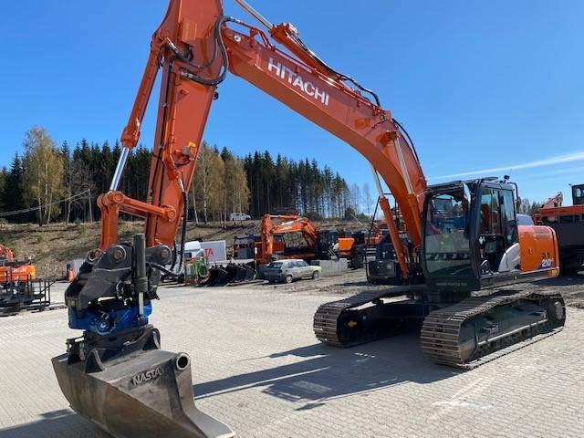 Hitachi ZX 210 LC-6, Crawler Excavators, Construction Equipment